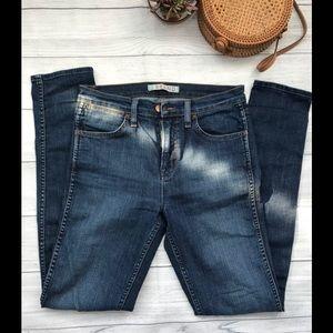 J Brand Sasha Skinny Jeans in Vivid in Blue